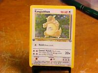1st Edition Kangaskhan 5/64 Holo Rare Jungle Set Pokemon Card NMint