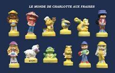 SERIE COMPLETE DE FEVES LE MONDE DE CHARLOTTE AUX FRAISES BRILLANTES