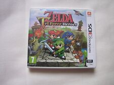 jeux nintendo 3DS  The legend of Zelda Tri Force Heroes