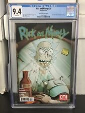 Rick And Morty #35 CGC 9.8 Mike Vasquez #128 Demon In A Bottle Variant Iron Man