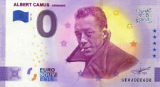 37 DESCARTES Albert Camus, L'étranger, 2021, Billet Euro Souvenir
