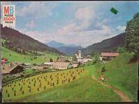 "Vintage Grand ""Tirol Alps Austria"" 2500 piece 39"" x 27"" jigsaw puzzle 1981 MB"
