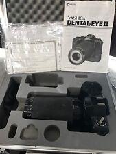 Kyocera Yashica DENTAL EYE Ⅱ Film Camera 100mm f4 Lens, Manual/Case