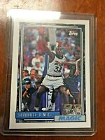 Shaquille SHAQ O'Neal Rookie Card 1992-93 Topps #362 RC 92 Draft Pick HOF Magic