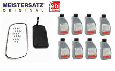 8-Quarts Fluid & Transmission Filter Kit with Bolts E46 323 325 330 E39 X3