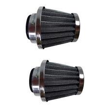 2 Filters 38mm Air Filter for Honda Kawasaki Dirt Bike ATV CRF50 SDG SSR 110 125