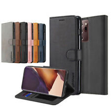 For Samsung Galaxy Note 20 Ultra S10 Note 10 Plus Wallet Case Leather Flip Cover