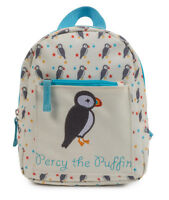 Pink Lining Mochila Percy the Puffin