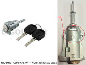 DOOR LOCK BARREL LOCKSET FRONT LEFT FOR SKODA OCTAVIA I MK1 1996- 1U0837167C