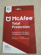 McAfee Total Protection 2019 Unlimited Devices 1 Year
