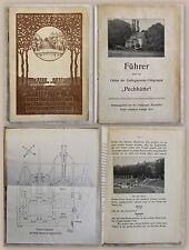 Führer Gebirgsvereins-Ortsgruppe Pechhütte 1914 Barockgarten Großsedlitz Sachsen