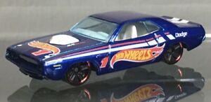 MINT LOOSE 2012 Hot Wheels #174 HW Racing Series blue '70 Dodge Hemi Challenger