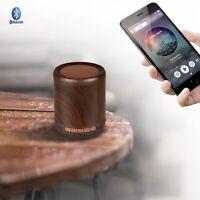 Holz Hallo-Fi Woofer Wireless Bluetooth Lautsprecher Portable Stereo Lautspre 4I