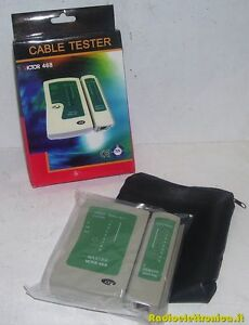 Cable Tester - VICTOR 468