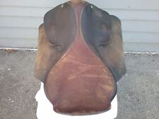 Vintage Sickles Saddle Made In St. Louis 19 Inch English Saddle I Think