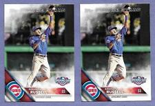 2016 Topps Opening Day #OD-121 Addison Russell set of 2 in Near Mint Condition