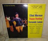 Happy Hunting - Original Broadway Cast LP - Ethel Merman - NM/EX (SEE/HEAR)
