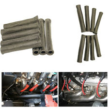 8pc 2500 Degree SPARK PLUG WIRE BOOTS PROTECTOR SLEEVE For LS1/LS2/LS4/LS6/LS7