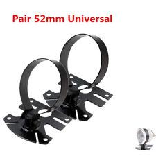 2x 52mm Metall Auto Halterung Zusatzinstrument Halterung Gauge Holder Universal