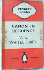 The Canon in Residence - Victor L. Whitechurch; Paperback book (Penguin 1940)