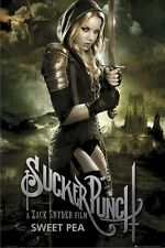 SUCKER PUNCH ~ SWEET PEA 24x36 MOVIE POSTER Abbie Cornish Sword NEW/ROLLED!
