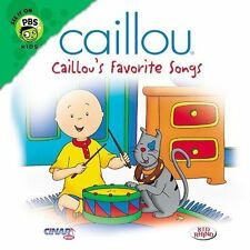 Caillou's Favorite Songs by Caillou (CD, Feb-2003, Çinar Müzik)