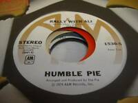 Rock Unplayed NM! 45 HUMBLE PIE Rally With Ali / Ninety-Nine Pounds on A&M