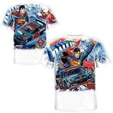 Dale Earnhardt Jr Superman Childrens All Over Print T - Shirt Size XL Free Ship