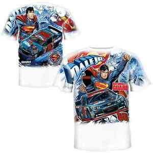 Dale Earnhardt Jr Superman Children's All Over Print T - Shirt XL Free Ship