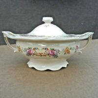 Vintage Edwin M. Knowles Covered Casserole Dish Baking Serving Tureen with Lid