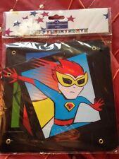 Avengers Buon Compleanno Striscione Festa Aggiungi Età Decorazione Super Heros Bunting