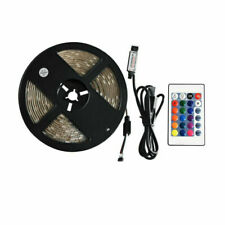 DC 5V LED Strip Light USB Mood colour changing lights TV Backlight RGB + remote