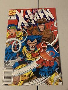 X-Men #4 - 1st App Omega Red - Jim Lee cover Marvel Comics 1991