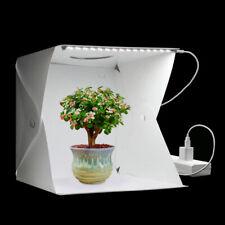Photo Studio Light Tent Photography Mini Folding Cube Box Backgrounds LED Kit 1