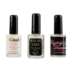 Dimples Assorted Nail Polish Strengthening Treatment x3