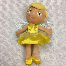 "Hallmark My Birthstone Fairy Topaz November Birthday 11"" Fairy with wings Plush"