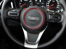 Car Steering Wheel Logo Cover Badge Sticker Circle FIT FOR KIA K4 KX3 K5
