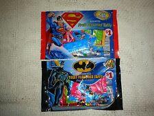Superman Batman Candy Rare Taffy New in Bag DC comics