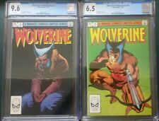 wolverine limited series #3,4.  cgc 9.6 & 6.5