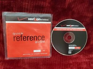 Quick Reference And User Guide For  Verizon Wireless Includes Welcome CD