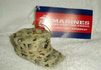 USMC US MARINES MARINE CORPS CAP HAT CHRISTMAS ORNAMENT NEW