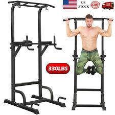 BangTong&Li Power Tower Dip Station Chin Pull Up Bar Home Gym Fitness Equipment