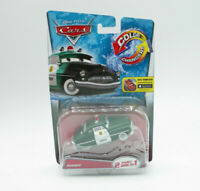 DISNEY PIXAR CARS COLOR CHANGERS SHERIFF 2 PAINT JOBS IN 1 NEW FREE SHIPPING