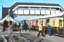 PHOTO  GWR VINTAGE TRAIN & PULLMAN COACHES STRATFORD ON AVON 26TH JAN 1980