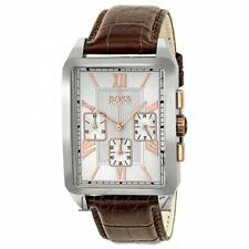 Hugo Boss 1512725 Rose Gold Genuine Leather Belt Watch