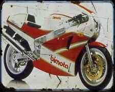 Bimota Yb6  2 A4 Metal Sign Motorbike Vintage Aged