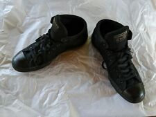 Converse Chuck Taylor All Star Syde Street Mid Top Triple Black Size 12
