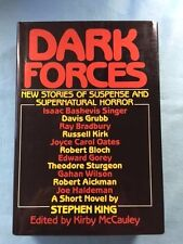 DARK FORCES - FIRST EDITION INSCRIBED OR SIGNED BY EDITOR & CONTRIBUTORS