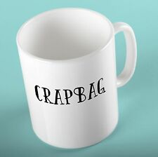 FRIENDS TV SERIES Mug Cup | Crap Bag | - Birthday Gift for Friends Fan Phoebe