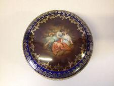Vtg Antique Dallwitz Proeschold & Co. Epiag Czechoslovakia Porcelain Dresser Box